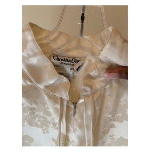 White Christian Dior Nightgown